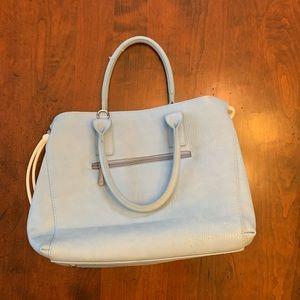Charming Charlie Bags - Light blue satchel